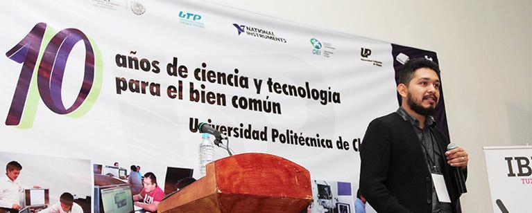 Invitación al décimo  aniversario de la Universidad Politécnica de Chiapas.