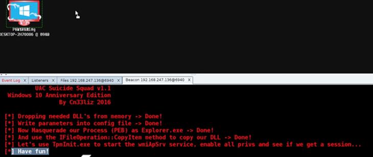 CobalStrike + MS Word + Bypass UAC