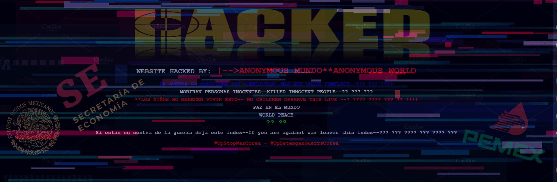 #GobHacked: Panorama general de sitios  gubernamentales hackeados en Mexico.