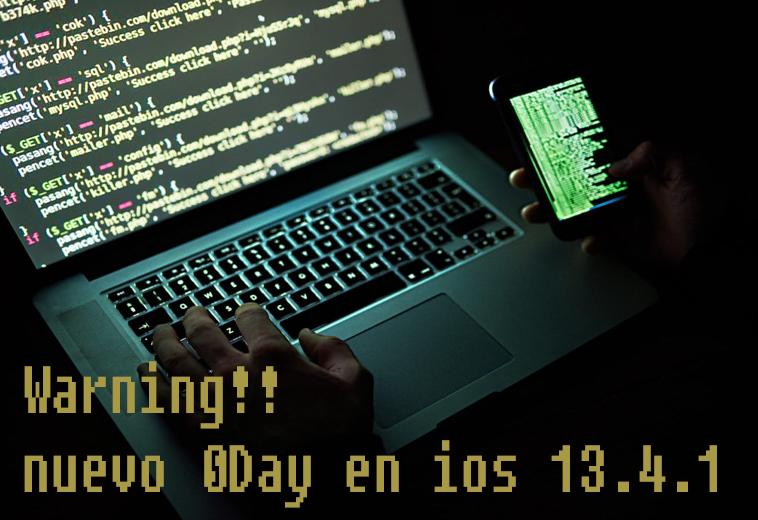 Warning⚠ : Vulnerabilidad en iOS permite el robo de mensajes